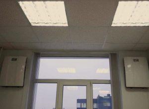 Сразу две установки ТИОН в одном из офисов