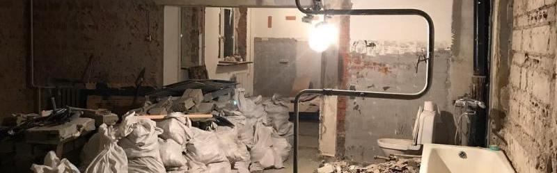 демонтаж стен в Первоуральске
